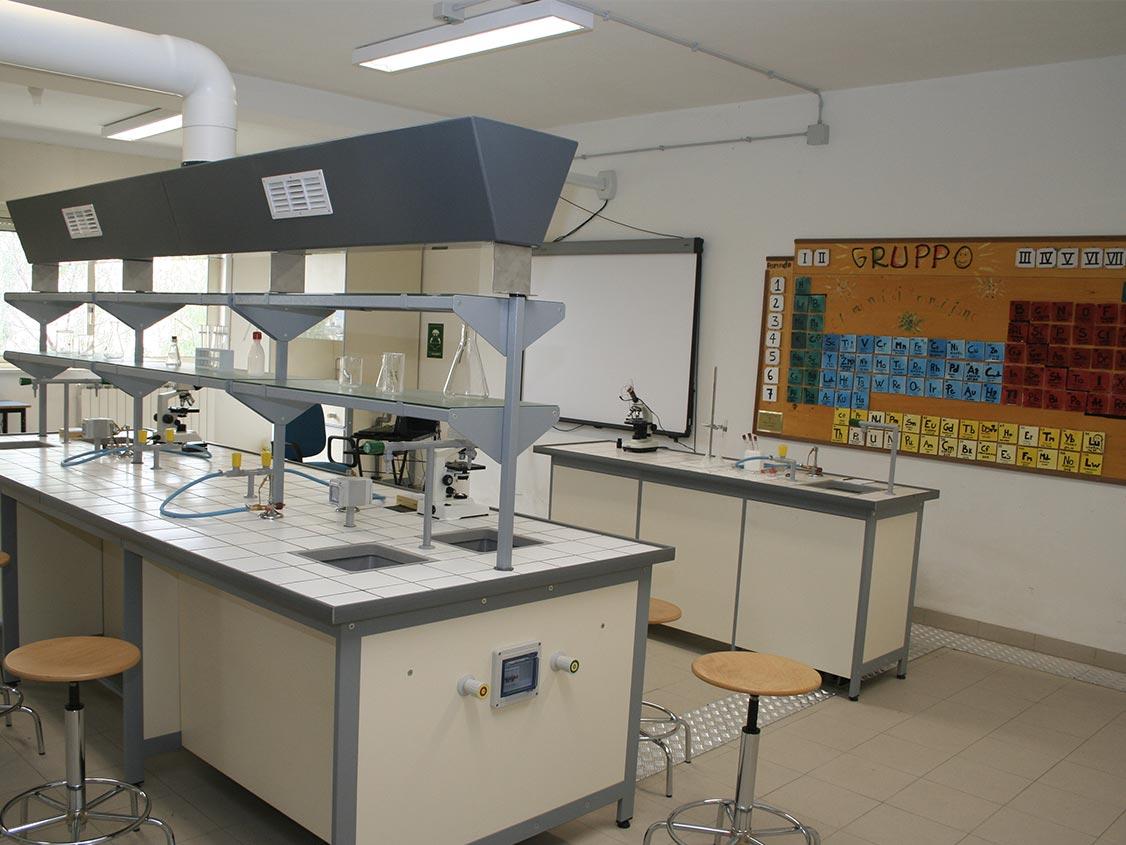 Laboratorio di chimica e biologia