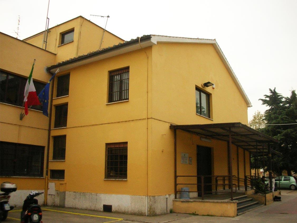 Sede centrale, edificio storico
